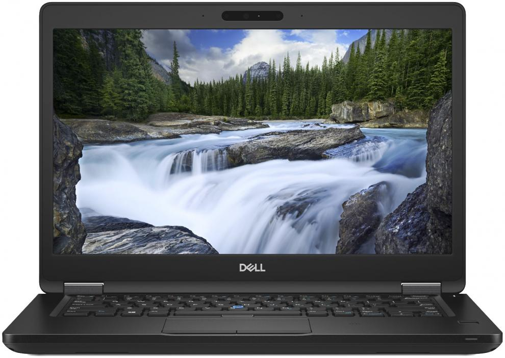 "UPGRADED Dell Latitude 5491 (N002L549114EMEA) 14.0"" FHD, i5-8400H, 12 GB, 256GB SSD, Win 10 Pro, Черен"