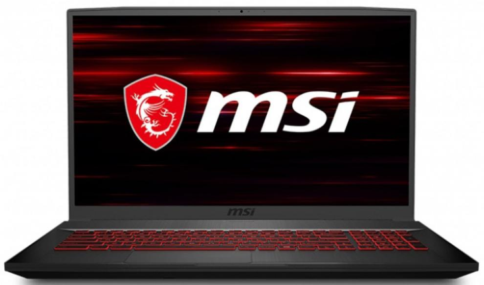 "UPGRADED MSI GF75 Thin 10SCSR, 17.3"" FHD 1920x1080, 144Hz, IPS-Level, i7-10750H, 12 GB DDR4, 512GB PCIe SSD, GTX1650 Ti 4GB GDDR6, HDD cage included, Backlight Keyboard Red, Black, Win10"