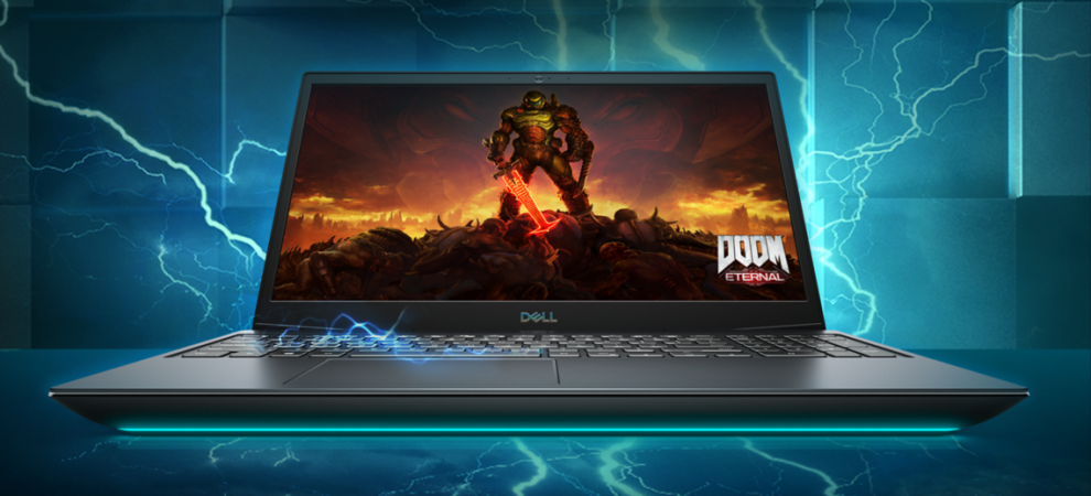 """Dell Inspiron Gaming G5 5500, 15.6"""" FHD, i7-10750H, 16GB, 1TB SSD, Win10 Pro 