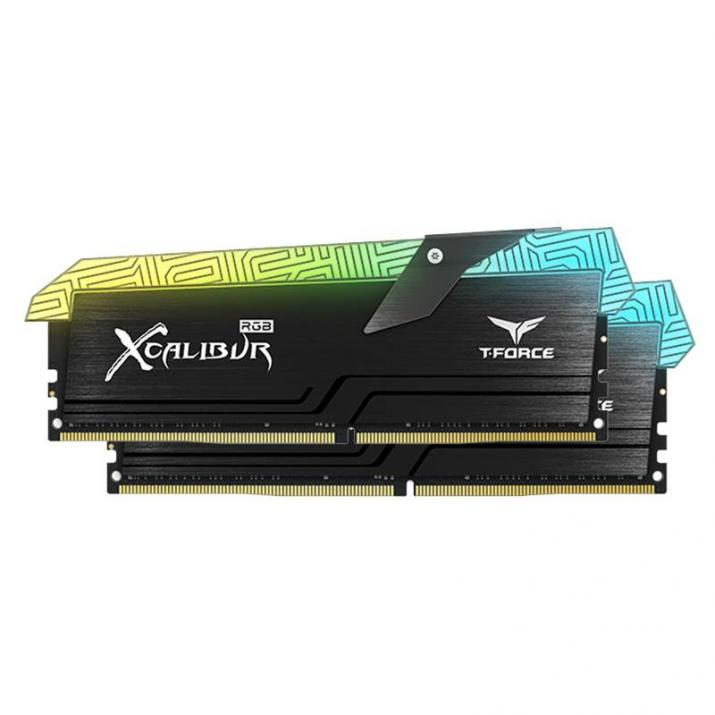 Памет Team Group T-FORCE XCALIBUR RGB DDR4 16GB(2x8GB) 3600 MHz CL18-20-20-44 1.35V