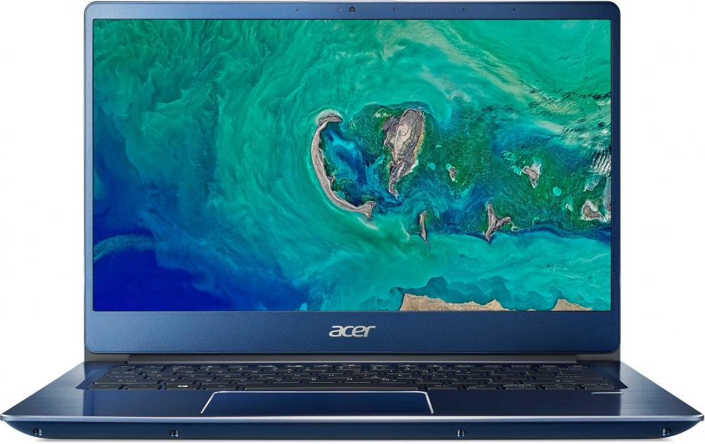 "UPGRADED Acer Swift 3 SF314-56G-56EU | NX.H4YEX.001 | 14.0"" FHD, i5-8265U, 16 GB , 1TB HDD, 128 GB SSD, GeForce MX150, Син, Win10"