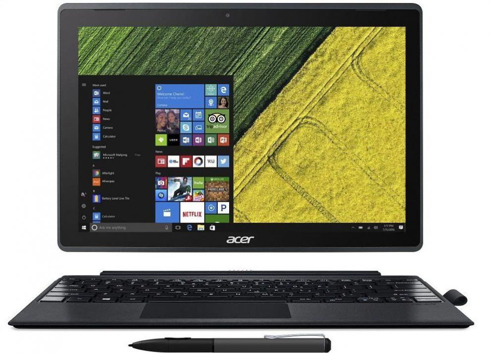 "+ Подарък | Acer Switch 3, SW312-31-P0M1, 12.2"" FHD IPS Touch, N4200, 4GB, 128GB SSD, Win 10, Сив 