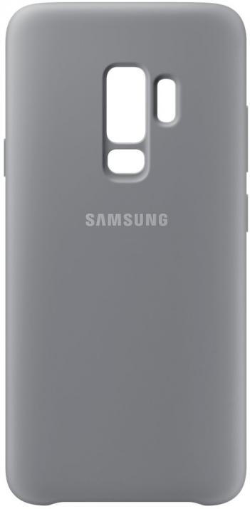 Гръб за Samsung Galaxy S9 +, Silicon Cover, сив
