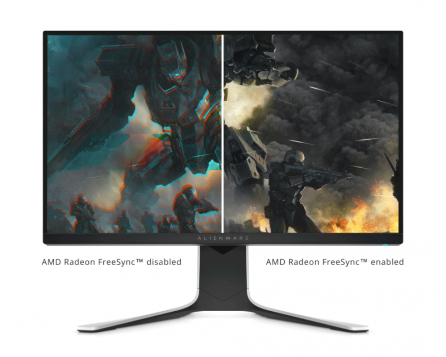 "Dell Alienware AW2720HF (2019) 27"" IPS, FHD, 1ms, 240Hz, Сив"