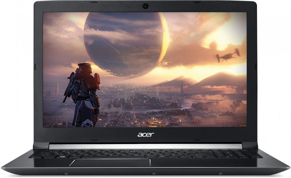 "UPGRADED Acer Aspire 7 A715-72G-55ZM, 15.6"" FHD IPS, i5-8300H, 16 GB, 1TB HDD, 128 GB SSD, GTX 1050Ti 