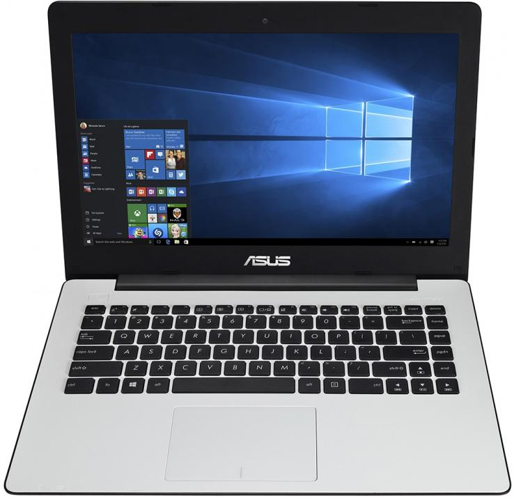 ASUS X453MA-WX463, Intel Quad-Core Pentium N3540 (up to 2.66 GHz) 4GB RAM, 1TB HDD, Бял