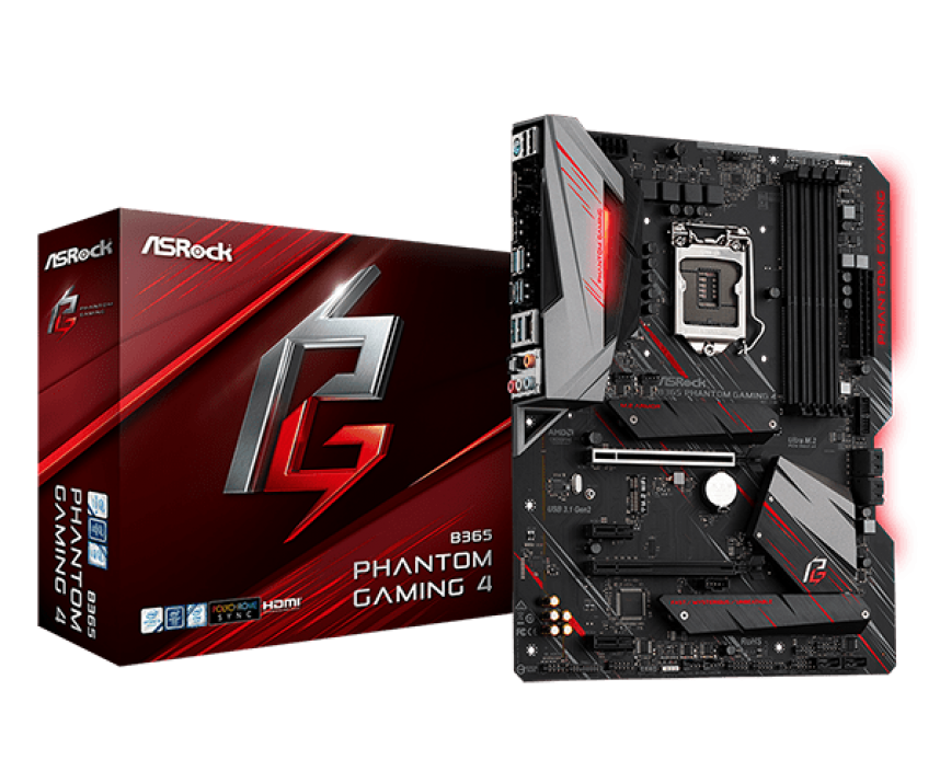 Дънна платка ASROCK B365 PHANTOM GAMING 4