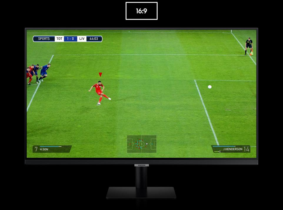 "Смарт монитор Samsung S27AM500NR, 27"" (1920 x 1080) VA LED 60 Hz, Flicker Free, Eye Saver Mode, Game Mode, Черен 