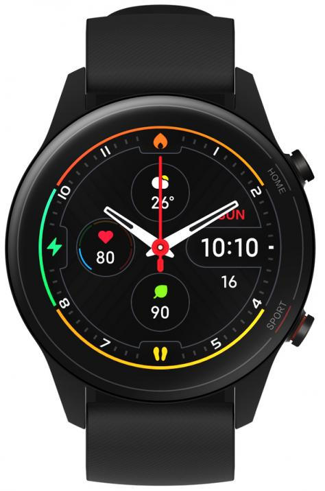 Смарт часовник XIAOMI Mi Watch, 46 mm, Black | BHR4550GL 1