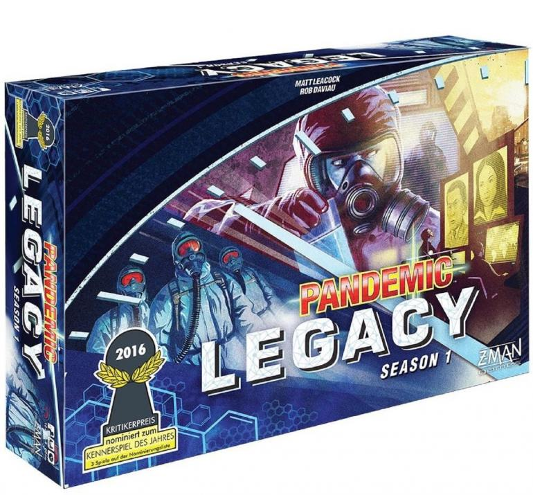 Настолна игра Pandemic Legacy Season 1 - Blue Box