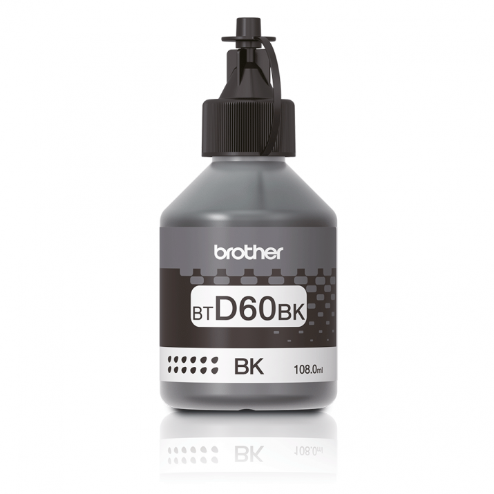 Оригинално мастило Brother BT-5000 Black Ink Bottle за серии Brother DCP-T310, DCP-T510W, DCP-T710W, MFC-T810W