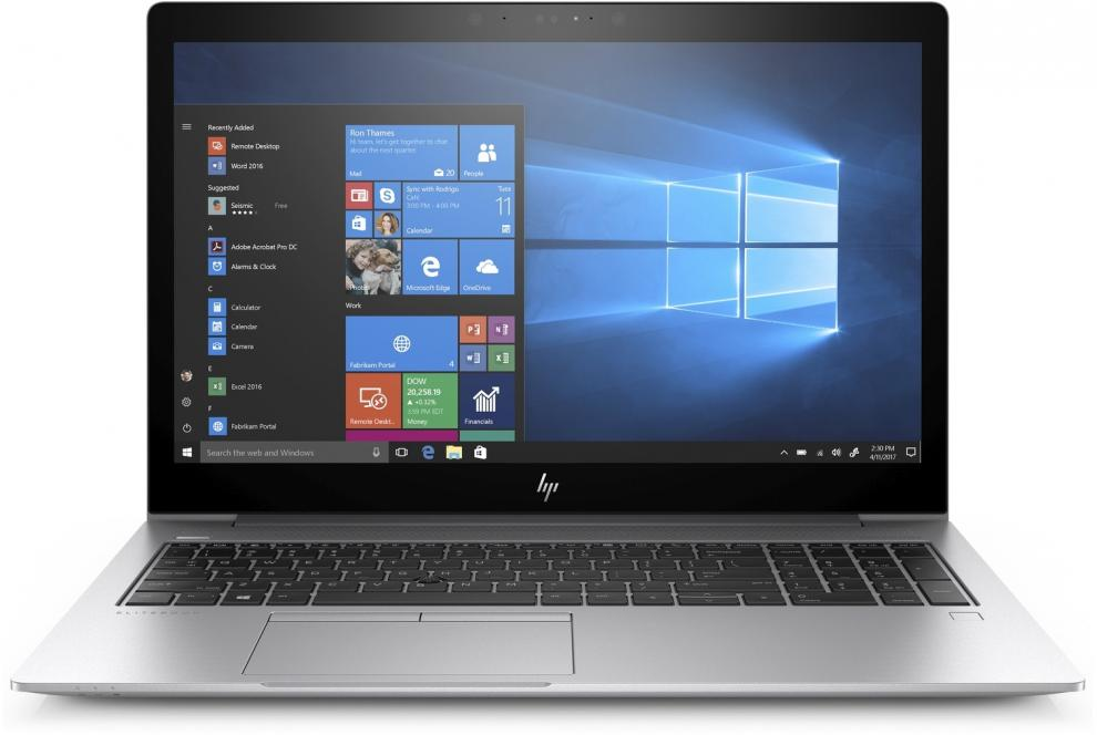 "HP EliteBook 850 G5 (3UP23EA) 15.6"" FHD IPS, i7-8550U, 16GB RAM, 512GB SSD, Win 10 Pro, Сребрист"