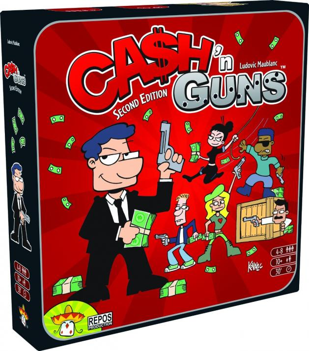 "Настолна игра ""CA$H 'N GUNS"" Second Edition (""CASH 'N GUNS"")- английско издание"