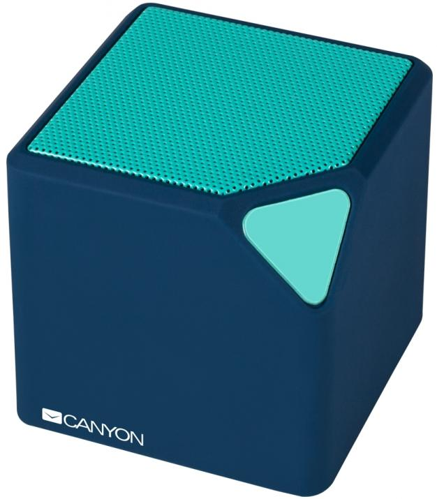Bluetooth тонколонка Canyon CNS-CBTSP2, Синя