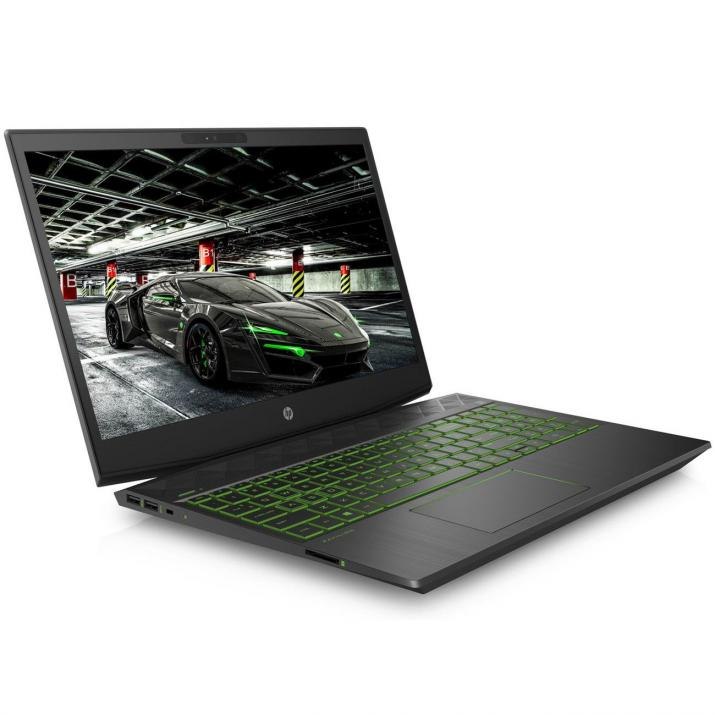 "UPGRADED Лаптоп HP Pavilion Gaming 15-dk0010nu (7JU34EA) 15.6"" FHD IPS, i7-9750H, 16GB RAM, 1TB HDD, GTX 1650 4GB, Черен"