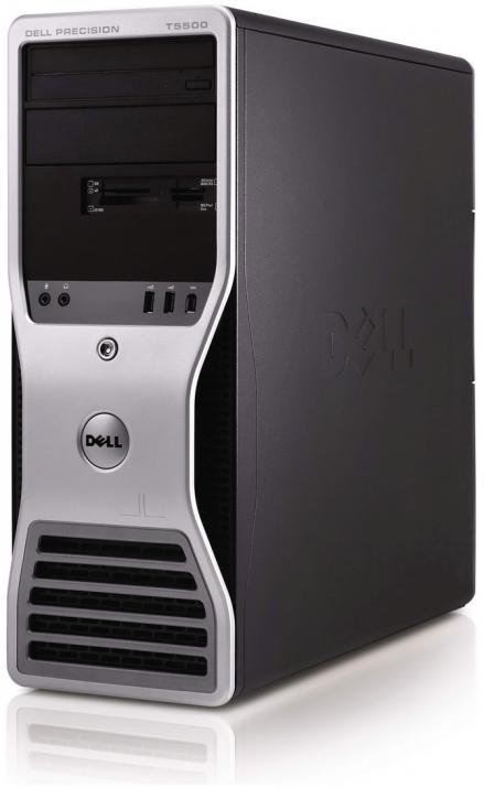 Dell Precision T5500 Tower, 2 x Xeon E5520, 12GB RAM, 146GB SAS, FX3800, DVD, Win 10 Pro