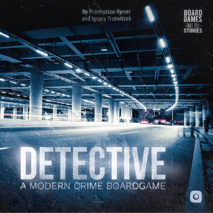 Настолна игра Detective: A modern crime board game - английско издание
