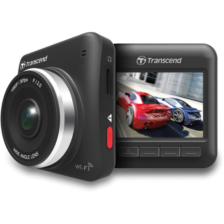 Видеорегистратор, Transcend Car Camera Recorder 16GB DrivePro 200 Wi-Fi