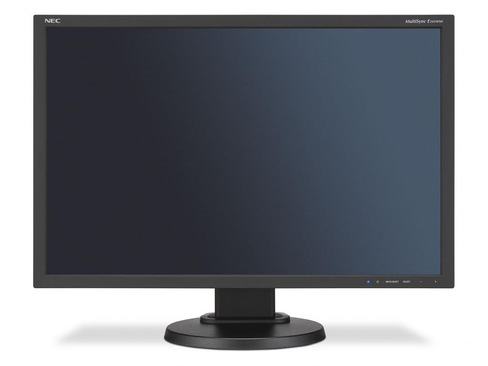 "Монитор NEC MultiSync® E245WMi LCD 24"" , IPS, 1920x1200, Speakers, Черен 1"