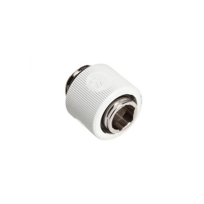 EK-ACF Fitting 10/13mm White (EK-DuraClear 9,5/12,7mm compatible) (EKWB3831109846438)
