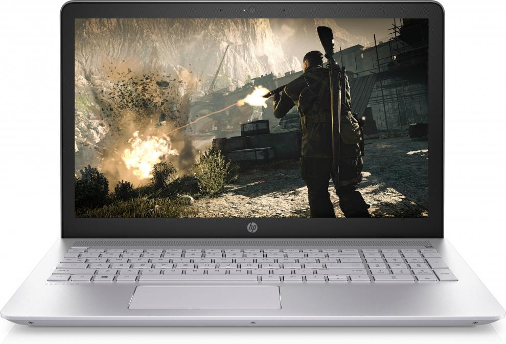 "HP Pavilion 15-cd0000nu (2LF08EA) 15.6"" HD, AMD Quad-Core A12-9720P, 12GB RAM, 256GB SSD, AMD Radeon 530, Сребрист"