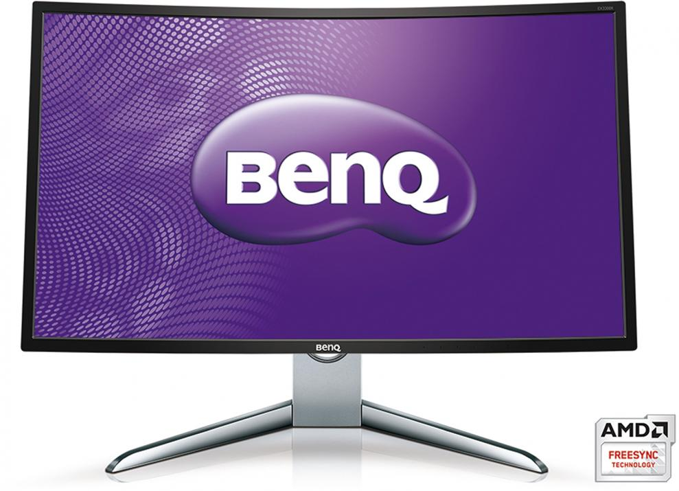 "Геймърски монитор BenQ EX3200R, 32"" VA Curved LED, FullHD 1920x1080, 144Hz, 4ms GTG"