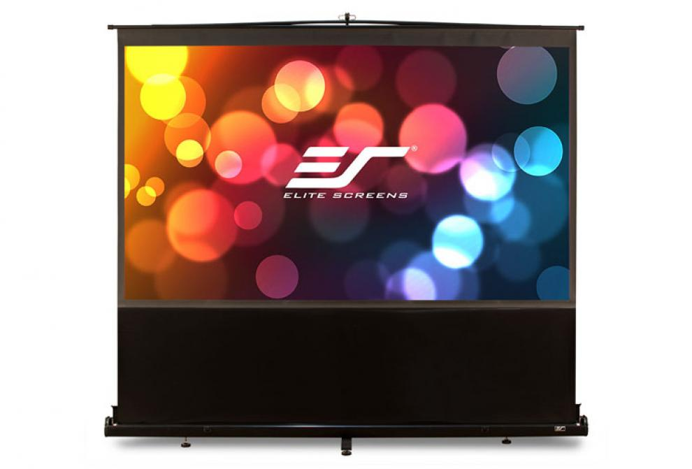 "Мултимедиен екран, Elite Screen F100NWH ezCinema Series, 100"" (221.5 x 124.5), Черен"
