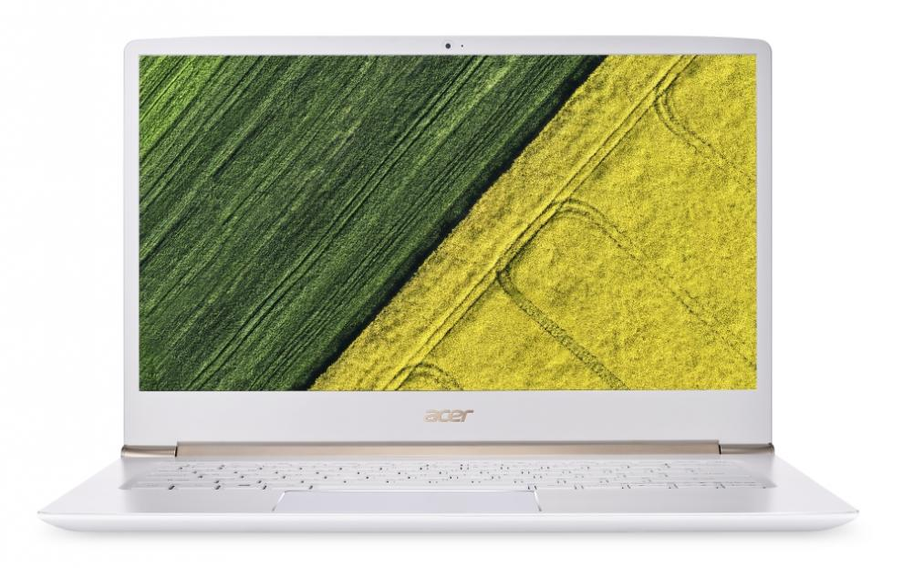 "Acer Aspire Swift 5 (NX.GNHEX.007) 14.0"" FHD, i7-7500U, RAM 8GB, 256GB SSD, Intel HD Graphics 520, Windows 10 Home, Бял"