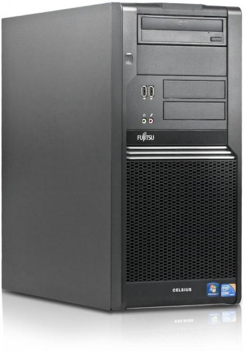 Fujitsu Celsius W380 Tower | i5-650, 4GB RAM, 250GB HDD, ATI FirePro V4800, Win 10 Pro