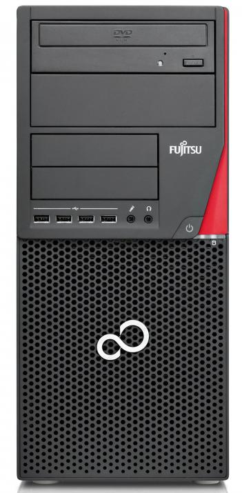 UPGRADED Fujitsu Esprimo P920 Tower | i5-4570, 8 GB, 500GB HDD, 240 GB SSD, DVD, Нова nVidia GeForce GTX 1050Ti, DDR5 - 4 GB с 2 години гаранция, Win10 Pro RFB