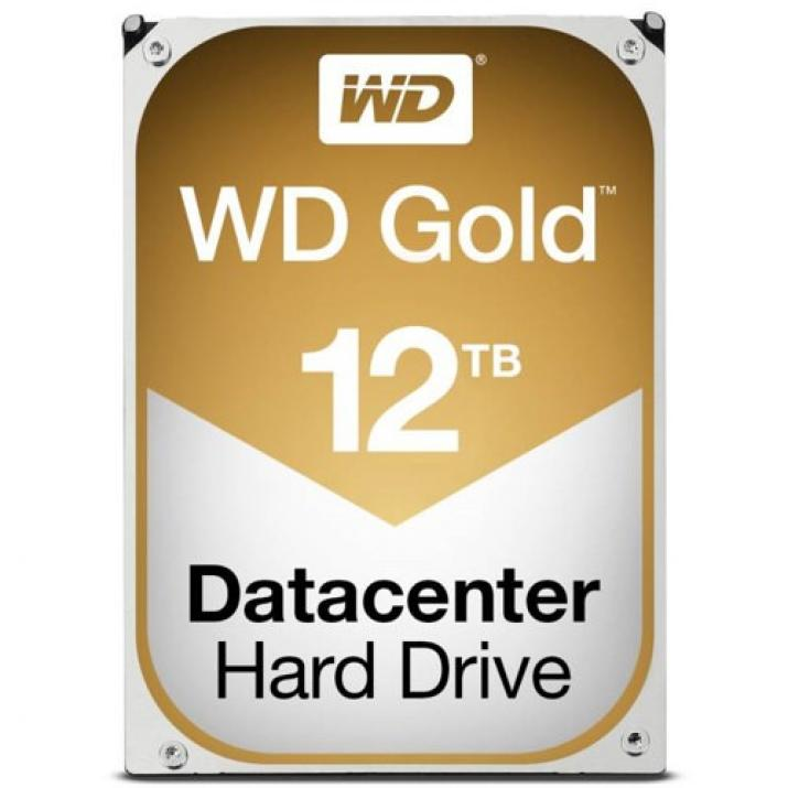 "Хард Диск Western Digital Gold 12TB, 3.5"" 256MB Cache 7200RPM"
