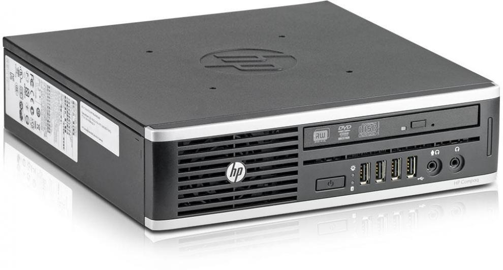 HP Compaq Elite 8300 USDT, i5-3470S, 4GB RAM, 250GB HDD, DVD-RW, Win 10