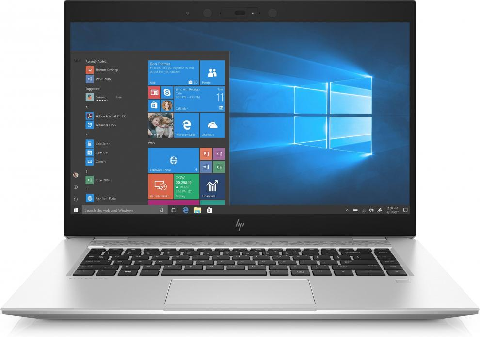 "UPGRADED HP EliteBook 1050 G1 (3TN96AV_30048395) 15.6"" FHD UWVA, i7-8750H, 32GB RAM, 512GB SSD, GTX 1050, Win 10 Pro, Сребрист"
