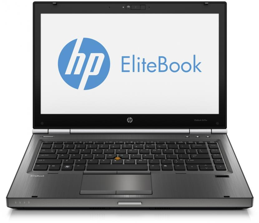 "HP Elitebook 8470w, 14.0"" 1366x768, i7-3520M, 8GB RAM, 320GB HDD, AMD FirePro M2000, Cam, Win 10 Pro"