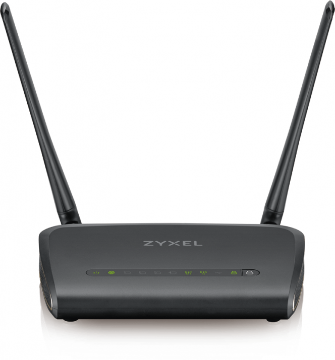 Безжичен рутер ZyXEL NBG661 AC1300 MU-MIMO Dual-Band Wireless Gigabit Router