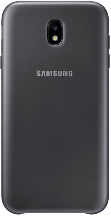 Гръб за Samsung Galaxy J7 (2017), Dual Layer Cover, черен