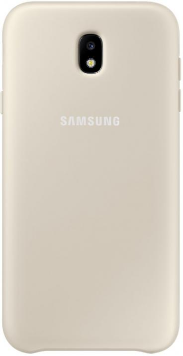 Гръб за Samsung Galaxy J7 (2017), Dual Layer Cover, златист
