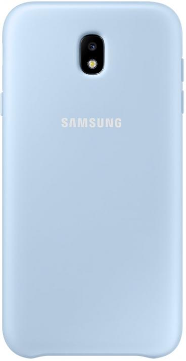 Гръб за Samsung Galaxy J7 (2017), Dual Layer Cover, син