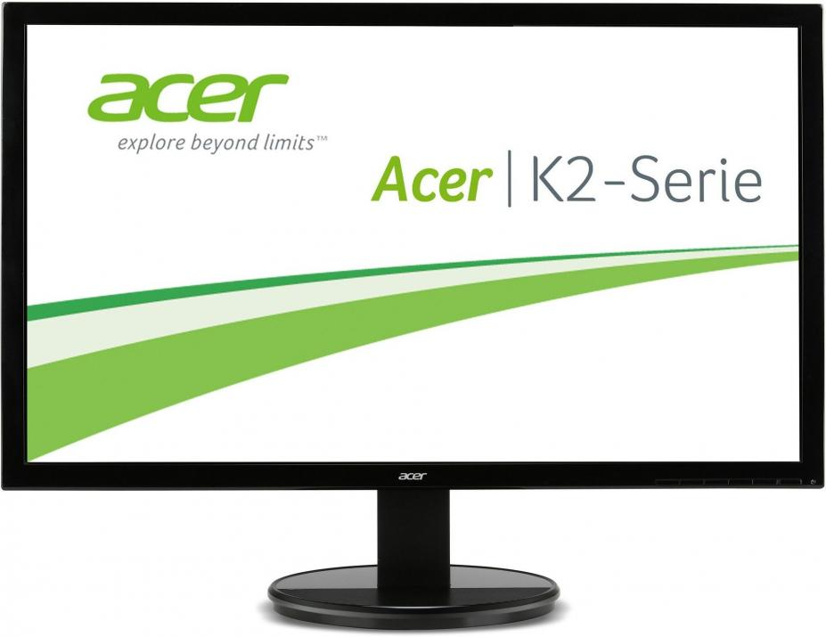 "Монитор 24"" Acer K242HLbd, LED, Full HD (1920x1080), Черен (UM.FW3EE.001)"