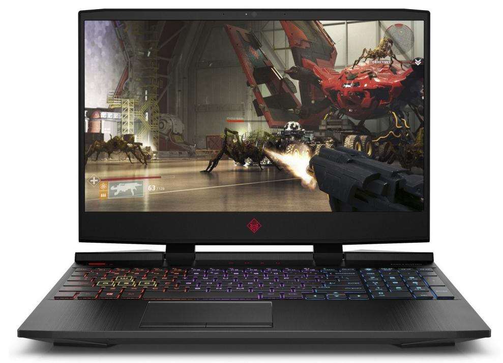 "UPGRADED Лаптоп HP Omen 15-dc1007nu | 7KD64EA | 15.6"" FHD IPS 144Hz, i7-9750H, 16 GB, 128 GB SSD, 1TB HDD, RTX 2060, Черен, Win10"