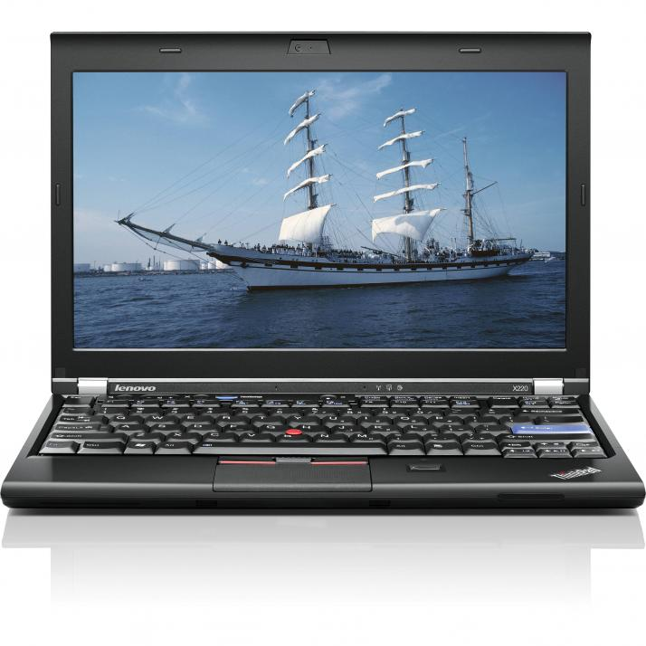 "UPGRADED Супер бърз Lenovo ThinkPad X220 12.5"", i5-2430M, 8GB RAM, 320GB HDD, CAM, Win 10"
