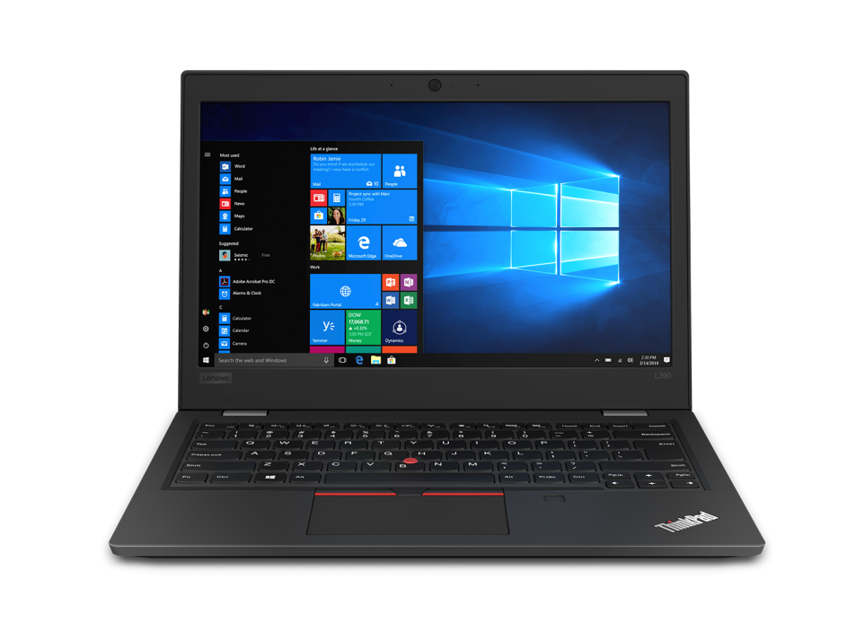 "UPGRADED Lenovo ThinkPad L390 13.3"" FHD, i7-8565U, 12 GB, 512GB SSD, Win 10 Pro, Черен 20NR002DBM"