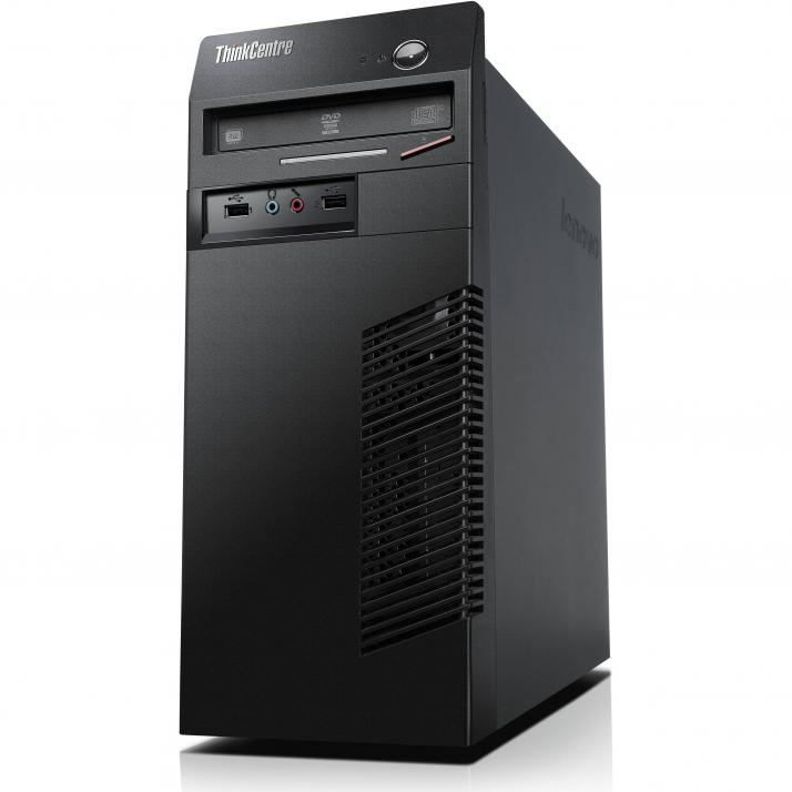 UPGRADED Lenovo ThinkCentre M72e Tower, i5-3470, 8GB RAM, 120GB SSD, 500GB HDD, DVD-RW, Win 10
