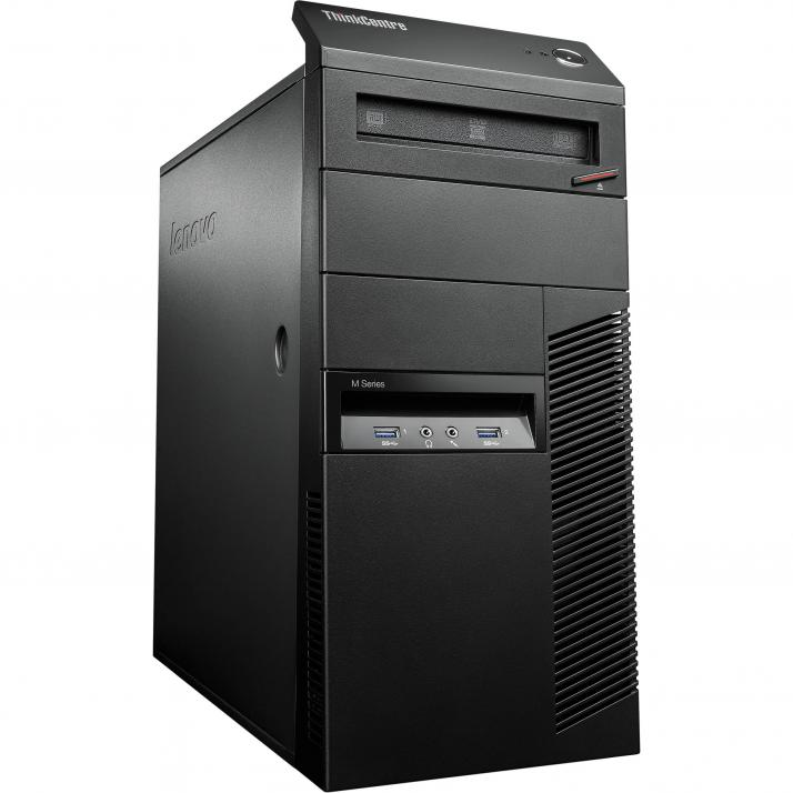Lenovo ThinkCentre M93p Tower | i7-4790, 8GB RAM, 500GB HDD, GT 1030, Win 10 Pro