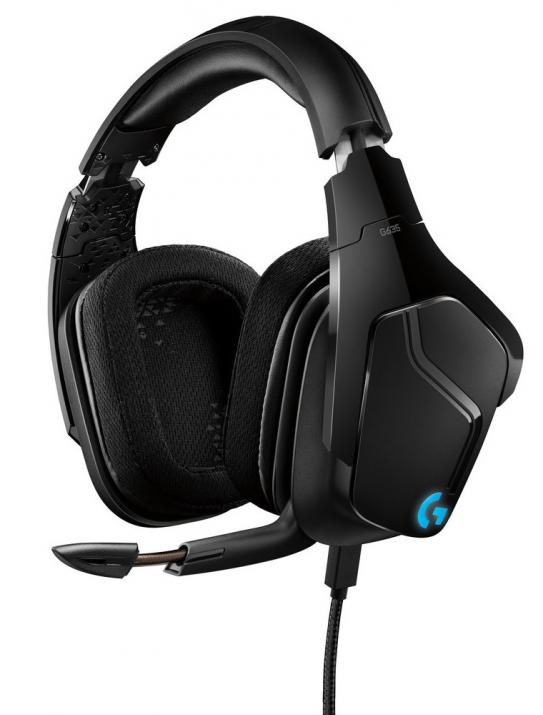 Геймърски слушалки Logitech G635 7.1 Lightsync Gaming Headset 981-000750