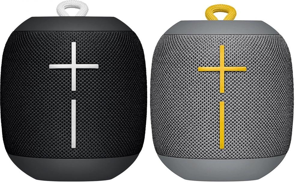 Bluetooth Тонколонки Logitech WL SPEAKER ULTIMATE EARS WONDERBOOM, Черна и Сива (991-000238)