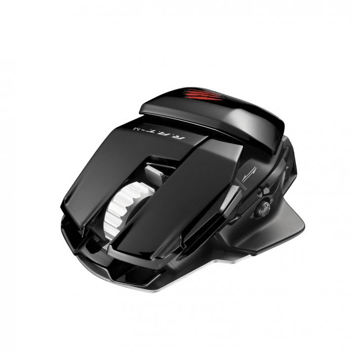 Геймърска мишка Mad Catz Cyborg R.A.T. M Bluetooth, Черна (R.A.T. M-Black)