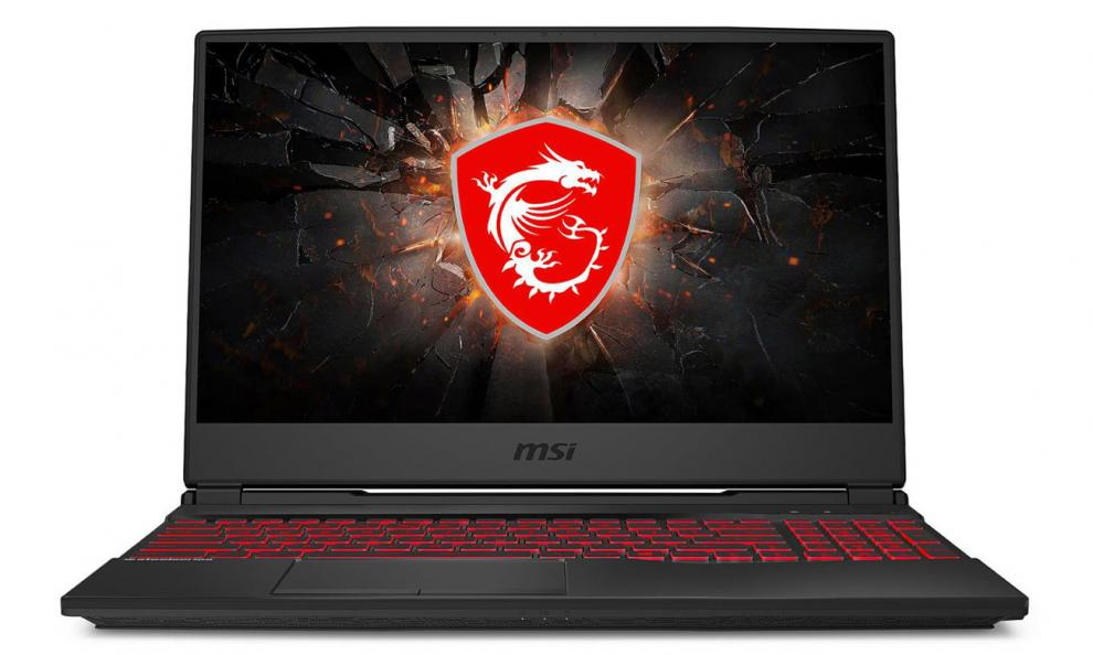 "UPGRADED MSI GL65 9SE, 15.6"" FHD 1920x1080 120Hz, i7-9750H, 32 GB, 256GB SSD, RTX 2060, Черен 