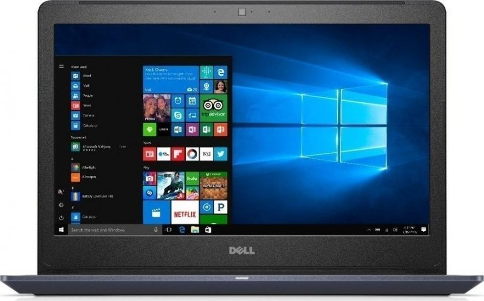 "UPGRADED Dell Vostro 5468 14"" HD, i5-7200U, 8GB RAM, 120GB SSD, 1TB HDD, GF 940MX 2GB DDR5, Син"