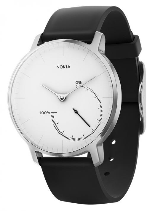 Смарт часовник Nokia Steel, Бял | HWA01-WHITE-ALL-INTER